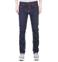 True Religion Geno Relaxed Slim No Flap Super T Inglorious Indigo Denim Jeans