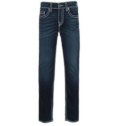 True Religion Rocco Skinny Fit Super T Blue Denim Jeans