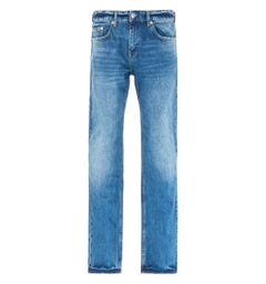 True Religion Rocco Relaxed Skinny Jeans - Bay Ridge Blue