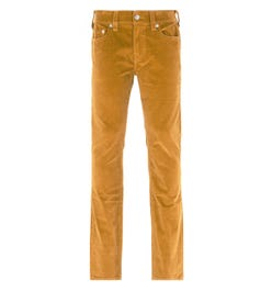 True Religion Rocco Relaxed Skinny Desert Sand Corduroy Trousers