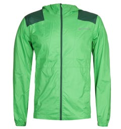 Columbia Flashback Green Windbreaker Jacket