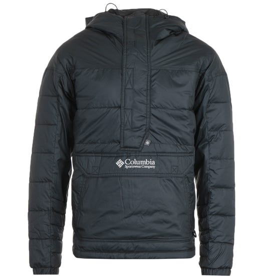 Columbia Lodge Pullover Jacket - Black