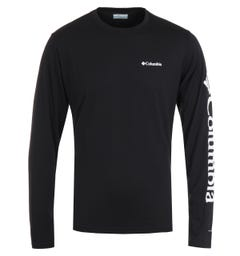 Columbia Miller Valley Long Sleeve T-Shirt - Black