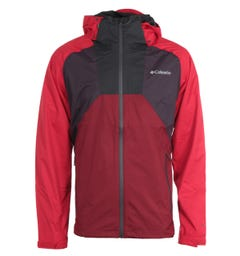 Columbia Rain Scape Jacket - Red