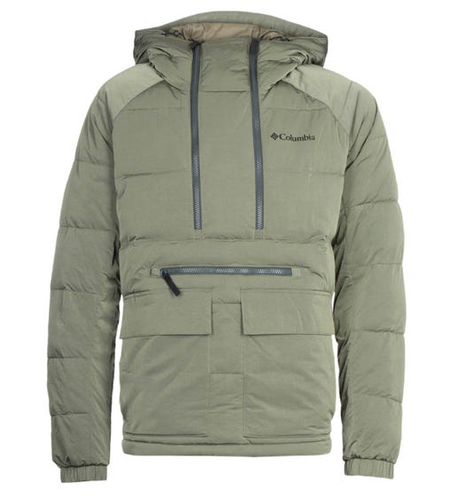 Columbia Kings Crest Stone Green Pullover Jacket