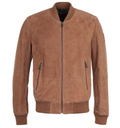 Belstaff Light Brown Suede Harbour Jacket