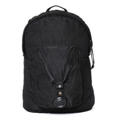 CP Company Pocket Detail Black Backpack