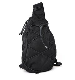 CP Company Utility Black Shoulder Bag