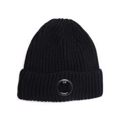 CP Company Watch View Navy Beanie