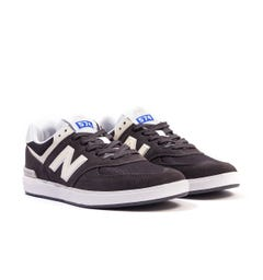 New Balance All Coasts AM574 Suede & Mesh Trainers - Black