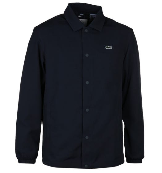 Lacoste LIVE Navy Button-Through Lightweight Blouson Jacket