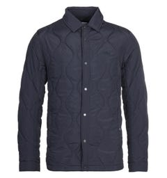 Lacoste Navy Quilted Jacket