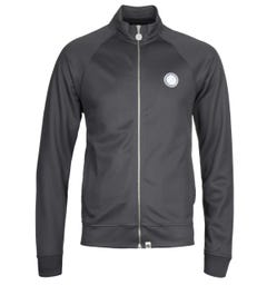 Pretty Green Grey Zip Through Tracksuit Jacket