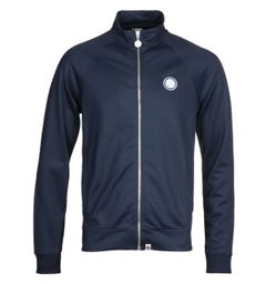 Pretty Green Zip Up Navy Track Jacket