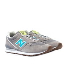 New Balance 996 Grey Suede Trainers