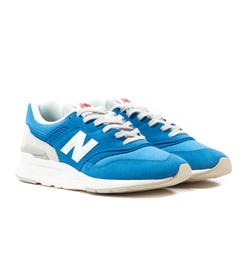 New Balance 997 Blue Suede Trainers