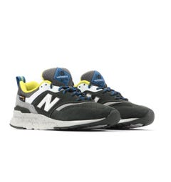 New Balance 997H Cordura Suede Trainers - Rifle Green & Sulphur Yellow