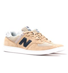 New Balance CT576 Beige Suede Trainers