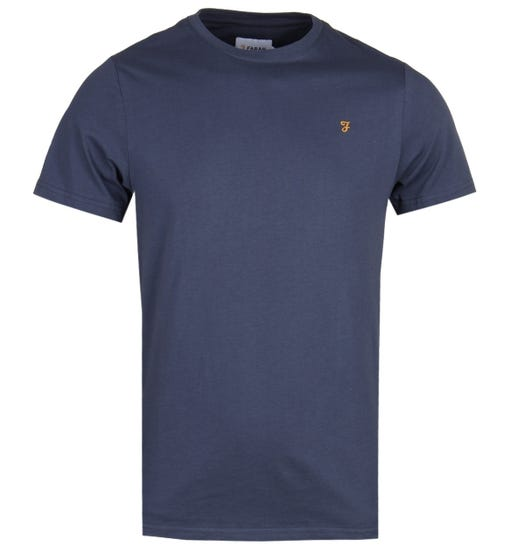 Farah Denny Slim Fit Navy T-Shirt