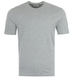 Farah Eddie Organic Cotton T-Shirt - Rain Heather