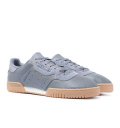 Adidas Originals Powerphase Grey Heather Leather Trainers