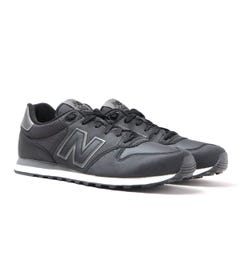 New Balance GM500 Black Mesh Trainers
