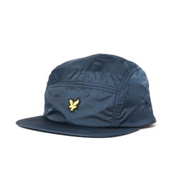 Lyle & Scott Ripstop 5 Panel Dark Navy Cap