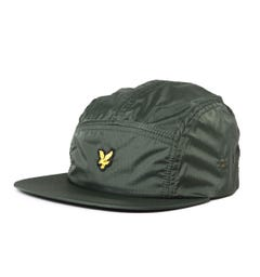 Lyle & Scott Ripstop 5 Panel Woodland Green Cap