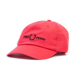 Fred Perry Graphic Logo Cap - Hibiscus Pink