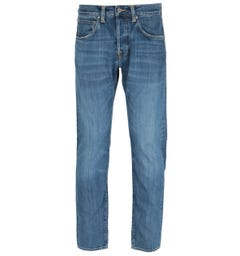Edwin ED-55 Regular Tapered Fit Blue Midori Wash Denim Jeans
