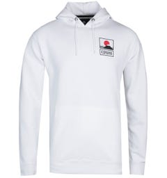 Edwin Sunset On Fuji White Hoodie