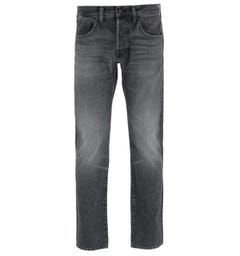 Edwin ED-55 Regular Tapered Kaguya Selvage Black Denim Jeans