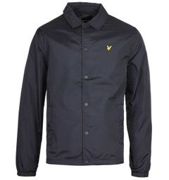 Lyle & Scott Jet Black Coach Jacket