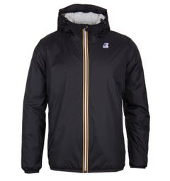 K-Way Le Vrai 3.0 Claude Orsetto Black Padded Jacket