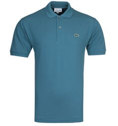 Lacoste L1212 MC Homme Blue Polo Shirt