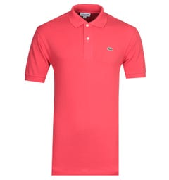 Lacoste Red MC Homme Polo Shirt