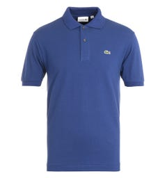 Lacoste Classic Fit Cobalt Blue Polo Shirt