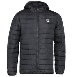 Fila Black Quilted Jacket