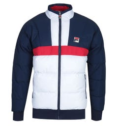 Fila Navy, White & Red Ski Jacket