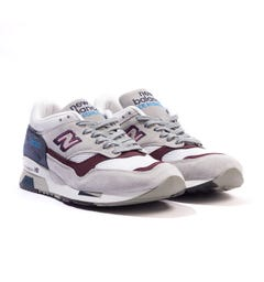 New Balance 1500 Made In England Suede Trainers - Grey & Navy