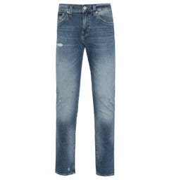 True Religion Geno Slim Fit Blue Denim Jeans
