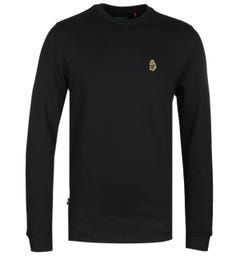 Luke 1977 The Runner Crew Neck Sweatshirt - Black