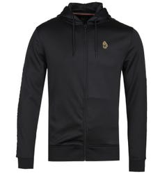 Luke 1977 Trico Black Zip-Through Hoodie