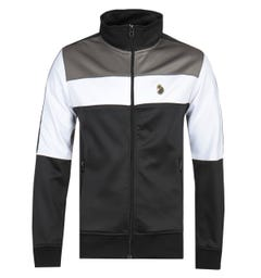 Luke 1977 Odin Full Zip Trico Luxury Black Track Jacket
