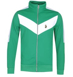 Luke 1977 Spanish Tony Funnel Track Jacket - Green