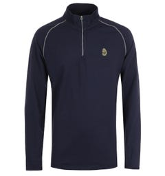 Luke 1977 Golden Eagle Navy Funnel Neck Sweatshirt