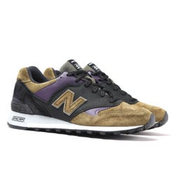 New Balance Made In England M577 Sage Green Suede Trainers