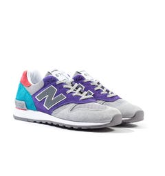 New Balance 670 Made In England Multi Colour & Grey Trainers
