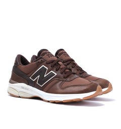 New Balance 770 Made in England Tonal Brown Trainers