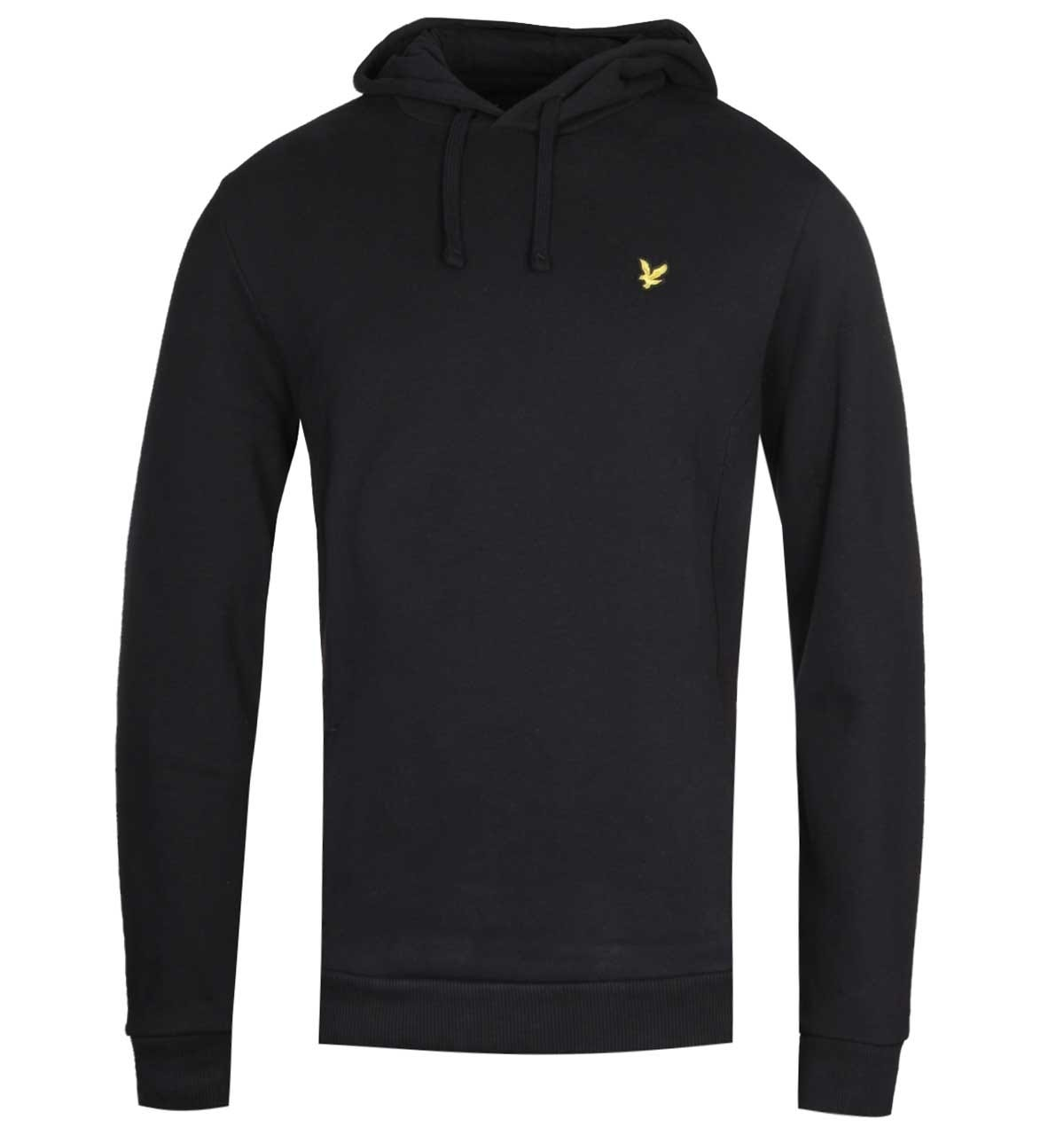 Lyle /& Scott Panelled Olive Pullover Hoodie